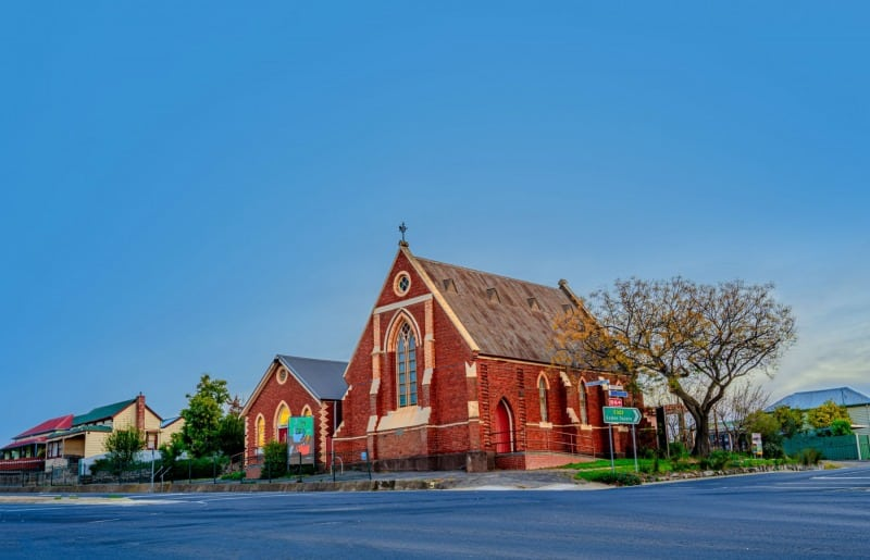 St Matthew's Church - Bendigo Stock Photos