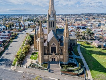 Sacred Heart Cathedral - Bendigo Stock Photos