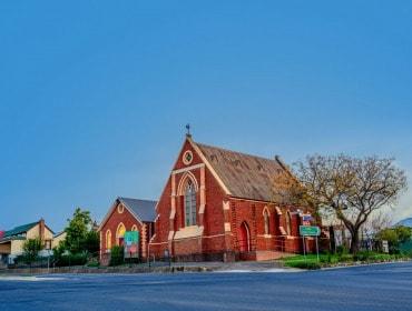 St Matthew's Church - Bendigo Stock Photos