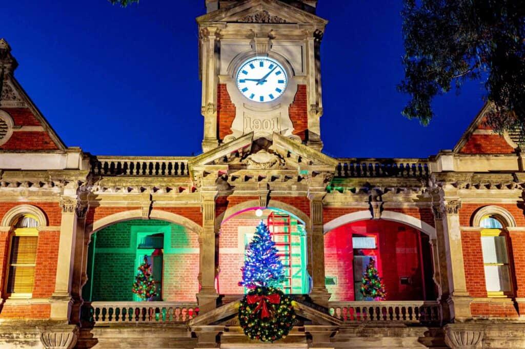 Bendigo Christmas Lights