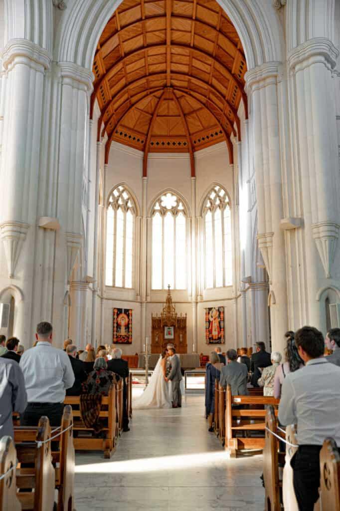 catholic cathedral wedding