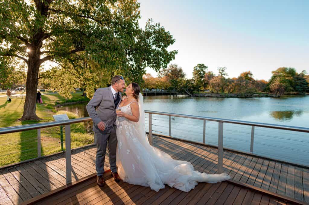 bendigo boardwalk wedding photos