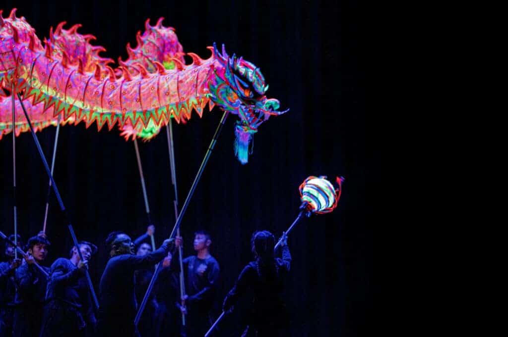 bendigo chinese dragon photos