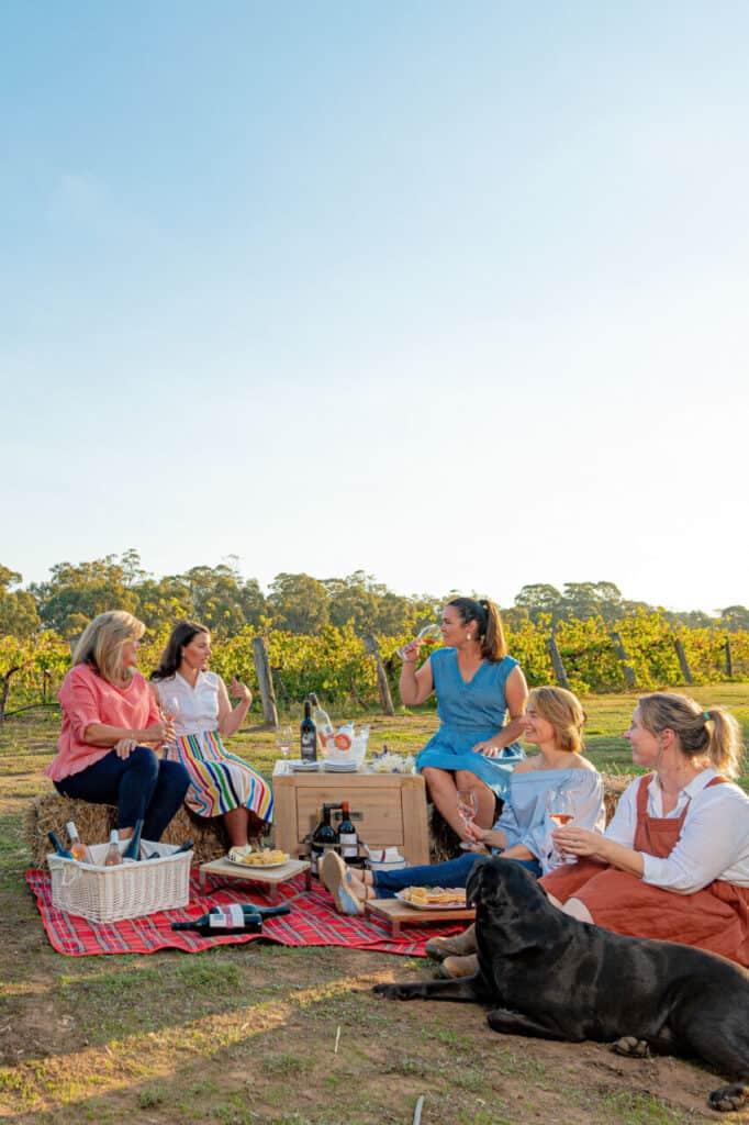 bendigo and heathcore women working in wine